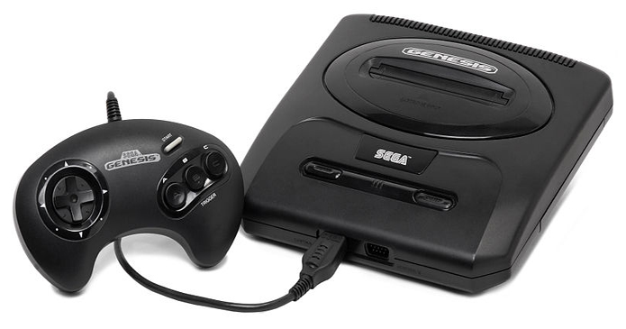 sega video game console
